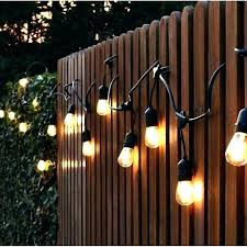 exterior string lights solar powered outdoor hanging patio