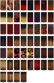 Hair Dye Colors Chart Best Hair Color Charts Hairstyles Weekly