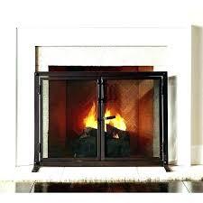 fireplace doors er grate with do screen s wood burning d