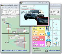 Cctv Lens Calculator Advanced Free Lens Calculator For