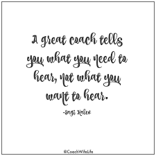 Coach quotes! Follow this Instagram account specifically for coaches ...