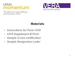 Form Cover Letter Design Examples U Visa Sample In Law Enforcement
