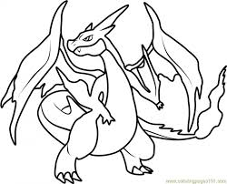 Charizard Coloring Page Elegant Pokemon Coloring Pages Charizard