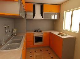 beech wood kitchen cabinets: orange wooden kitchen cabinet steel ventilation hood kitchen cabinets