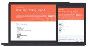 Test Report Template Usability Testing Report Template By Xtensio It's Free 18