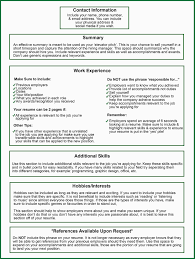 Resume With References Hobbies List For Resume. step 1 write the school of graduate studies ...