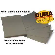1000 grit sandpaper. dura-gold 1000 wet or dry sandpaper sand auto/car paint color block sander grit 1