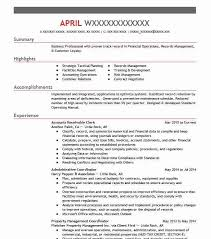 Best Accounts Receivable Clerk Resume Example LiveCareer Inspiration Accounts Receivable Resume