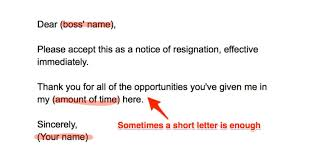 How To Write A Resigning Letter How To Write A Resignation Letter Business Insider