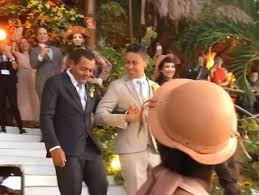 Resultado de imagem para Com noiva, pets e padrinhos famosos, Carlinhos Maia e Lucas Guimarães se casam