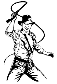 Small Picture Indiana jones and his leather whip coloring pages Hellokidscom