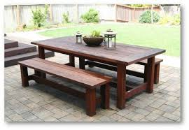 interior design for appealing outdoor wood dining furniture table of intended decor 7