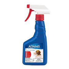 Adams Flea And Tick Spray For Cats And Dogs 16 Oz