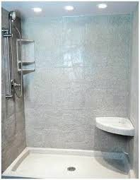 acrylic shower walls luxury photos no grout panels