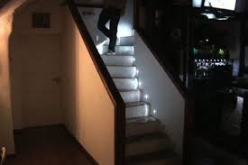 led stairwell lighting. DIY LED Stairwell Lighting System (video) » Gadget Review Led Stairwell Lighting Y