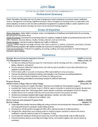 Claims Adjuster Trainee Resume Sample Independent Insurance Example