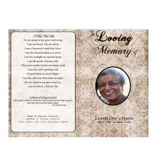 funeral pamphlet floral designs single fold memorial program funeral pamphlets