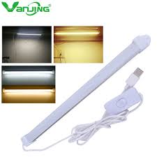bright rigid bar usb led hard strip lighting buld portable indoor lamp emergency for reading schoolroom in led bar lights from lights lighting on