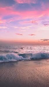 Pink Beach Sunset Wallpapers - 4k, HD ...