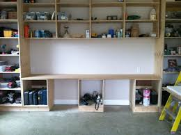garage storage ideas diy bench