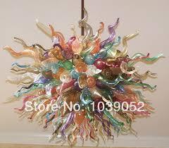 hot sale multi color crystal art italian glass chandelier lightingchina mainland chandelier modern italy blown glass