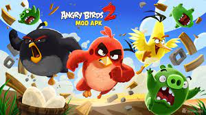 Angry Birds 2 Mod APK - Unlimited Everything (Gems, Black Pearls) v2.30.0