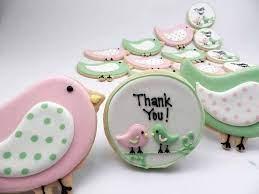 Welcome Little Songbird, Baby Cecelia   Bird cookies, Pretty cookies, Fancy  cookies