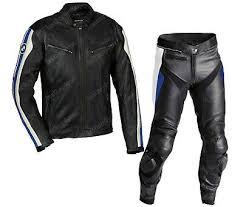 Mens Bmw Motorbike Motorcycle Leather Suit Racing Biker Leather Jacket Trouser Ebay