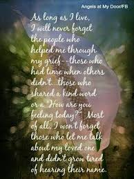 Thank You Quotes For Loss Of Loved One Inspiration And Who Is Still Helping Me With My Grief Thank You I Miss You