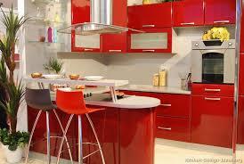 red kitchen designs photo gallery