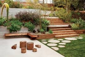 Small Picture garden design on steep slopes garden design slope free garden
