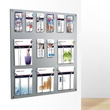 magazine rack wall mount:  awesome wall mounted magazine rack home design and decor for bathroom magazine rack