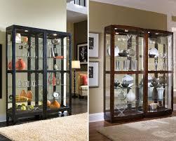 Corner Kitchen Curio Cabinet Pulaski Curio Cabinet For Contemporary Style Room Pizzafino
