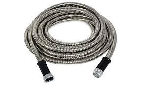 25 foot garden hose. 25- or 50-foot stainless steel garden hose: 50- 25 foot hose