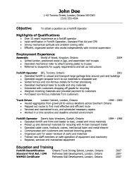 Resume For Warehouse Job