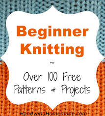 Beginner Knitting Patterns Enchanting Over 48 Free Beginners Knitting Patterns And Projects Handy