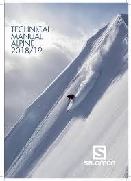 Backcountry Ski Size Chart Salomon Alpine Tech Manual 2018 19 By Salomon Issuu