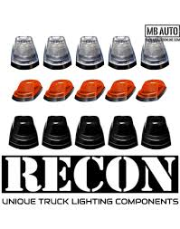 2019 F250 Smoked Cab Lights 2017 2018 2019 Ford F250 F350 F450 Recon Led Cab Lights