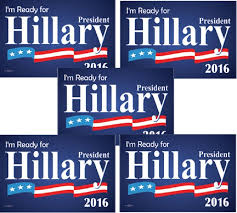 political campaign bumper stickers hillary clinton 2016 for president bumper stickers
