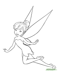 Small Picture Disney Fairies Tinker Bell Coloring Pages Disney Coloring Book