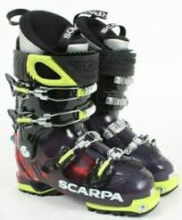 Details About Scarpa Freedom Sl Alpine Touring Boot 25 0 48166