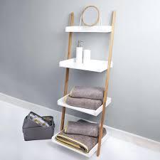 charming ladder shelf white elements white ladder shelves unit bathroom ladder  shelf white . charming ladder shelf ...