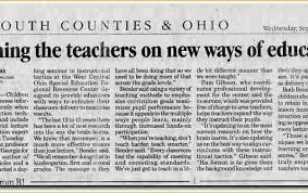 A Newspaper Article Example Business Proposal Templated Throughout