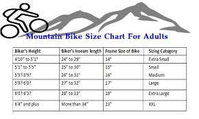 Bike Size Chart Trek Best Picture Of Chart Anyimage Org