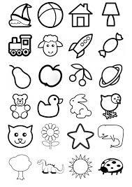Oltre 50 Disegni Semplici Da Colorare Per Bambini Piccoli Disegni