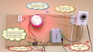 surveillance system ip camera burglar alarm and mobile app surveillance system alarm test panel