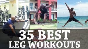 Calisthenics Leg Workout Motivation 35 Exercise Variations Routines