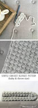 Modern Crochet Designs 45 Quick And Easy Crochet Blanket Patterns For Beginners