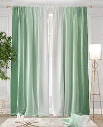 <b>Комплект штор ТомДом Ланджит</b> (зеленый) купить в интернет ...