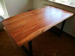 Tisch Baumkante 160 Esszimmertische Massivholz
